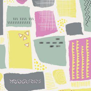 Art Gallery Fabrics Playing Pop 2282 Sugar Crystals Sour