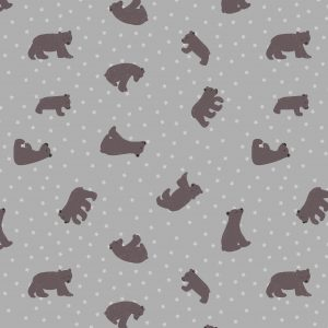 Bear Hug Starry Bear Grey A314.2