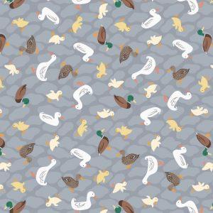 Ducks on grey A451.2