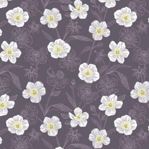 Rambling floral dark A455.3