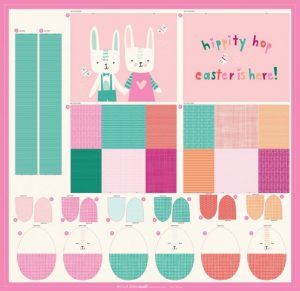 Easter Basket and Eggs panel 1