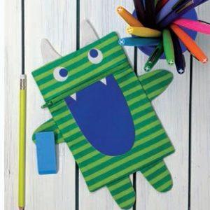 Monster Zipper Pouch example