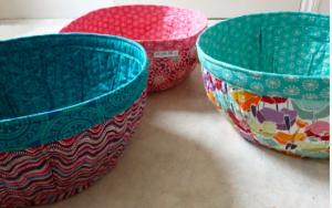 Project Baskets Sewing Pattern.