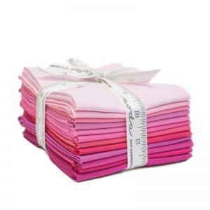 Bella Solids Fat Quarter Bundle AB125 Pink