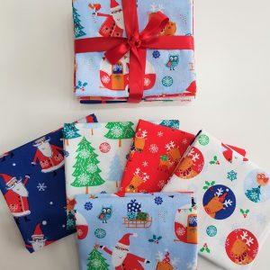 Santa Reindeer FQ Bundle