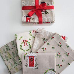 Traditional Christmas FQ Bundle