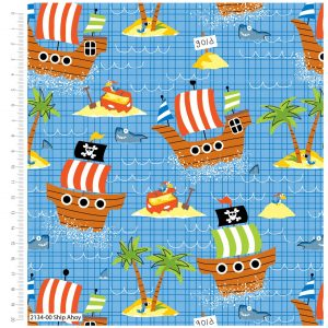 Craft Cotton Co. Ship Ahoy 2134