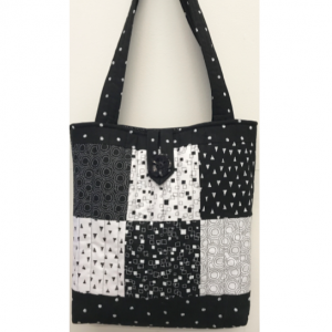 Patchwork tote bag kit Monochrome