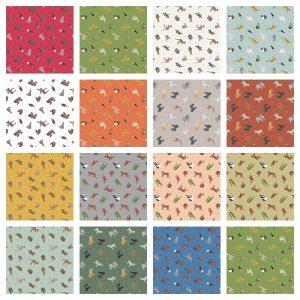 Small Things World Animals Fabric
