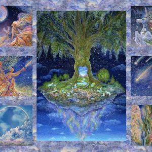17130 Celestial Journey Tree Panel