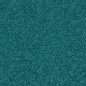 Green Paisley A490.3